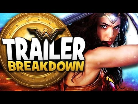 Wonder Woman Trailer #2 Breakdown and Review - Dr. Poison and Ares Explained