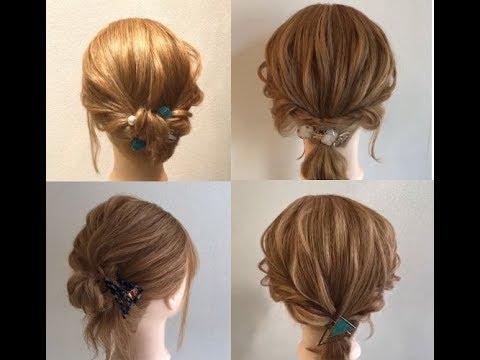 Hướng Dẫn Tạo Kiểu Cột Nửa Đầu/Uốn/Thắt Nơ/Búi Cho Tóc Ngắn l HAIR STYLE WITH SHORT HAIR