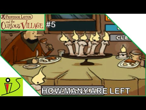 How Many Are Left? - Professor Layton and the Curious Village - Part 5