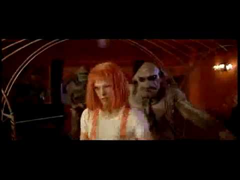 Diva Dance The Fifth Element Fight Scene Youtube