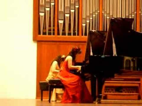 'Rachmaninoff- Russian Rhapsody for two pianos in e minor (part 2)