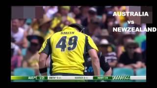 Australia vs New Zealand 1st ODI 2016
