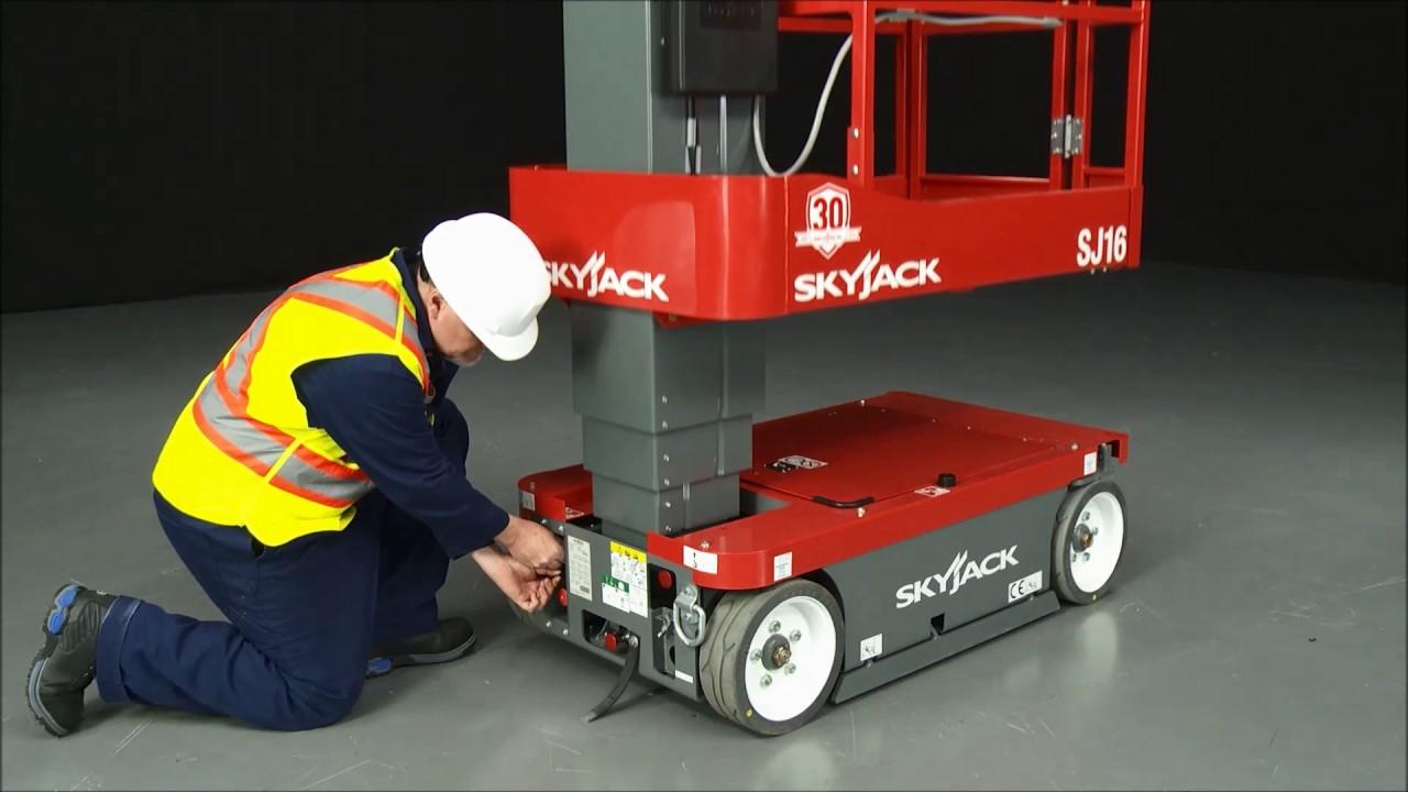 Skyjack SJ16 Vertical Mast Lift