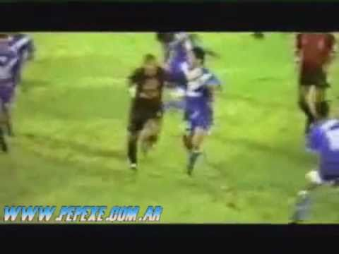 Gol CHILAVERT a RIVER relato VICTOR HUGO MORALES
