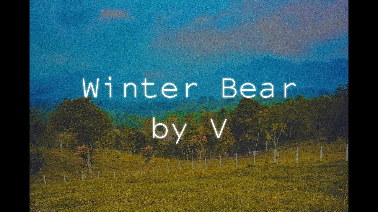 winter bear by v mv cover youtube. Black Bedroom Furniture Sets. Home Design Ideas