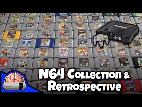 My Nintendo 64 Collection and N64 Retrospective