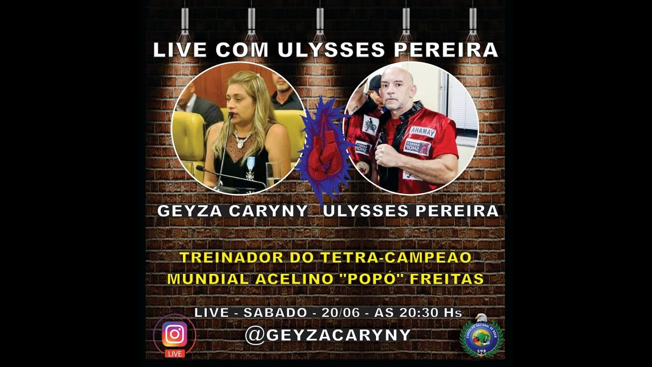 Live: Geyza Caryny e Ulysses Pereira
