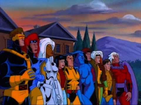 X Men Theme From The 90s X Men The Animated Series Cartoon Show Youtube