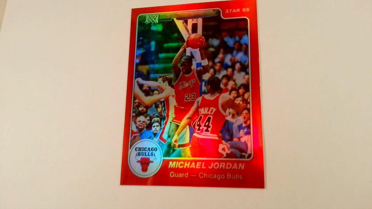 1984 Star 101 Michael Jordan RC XRC Custom Refractor Reprint Tribute 50 TopFlightCustoms