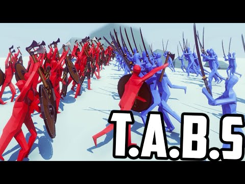 Totally Accurate Battle Simulator - EPIC BATTLES OF HISTORY (T.A.B.S Update Gameplay)