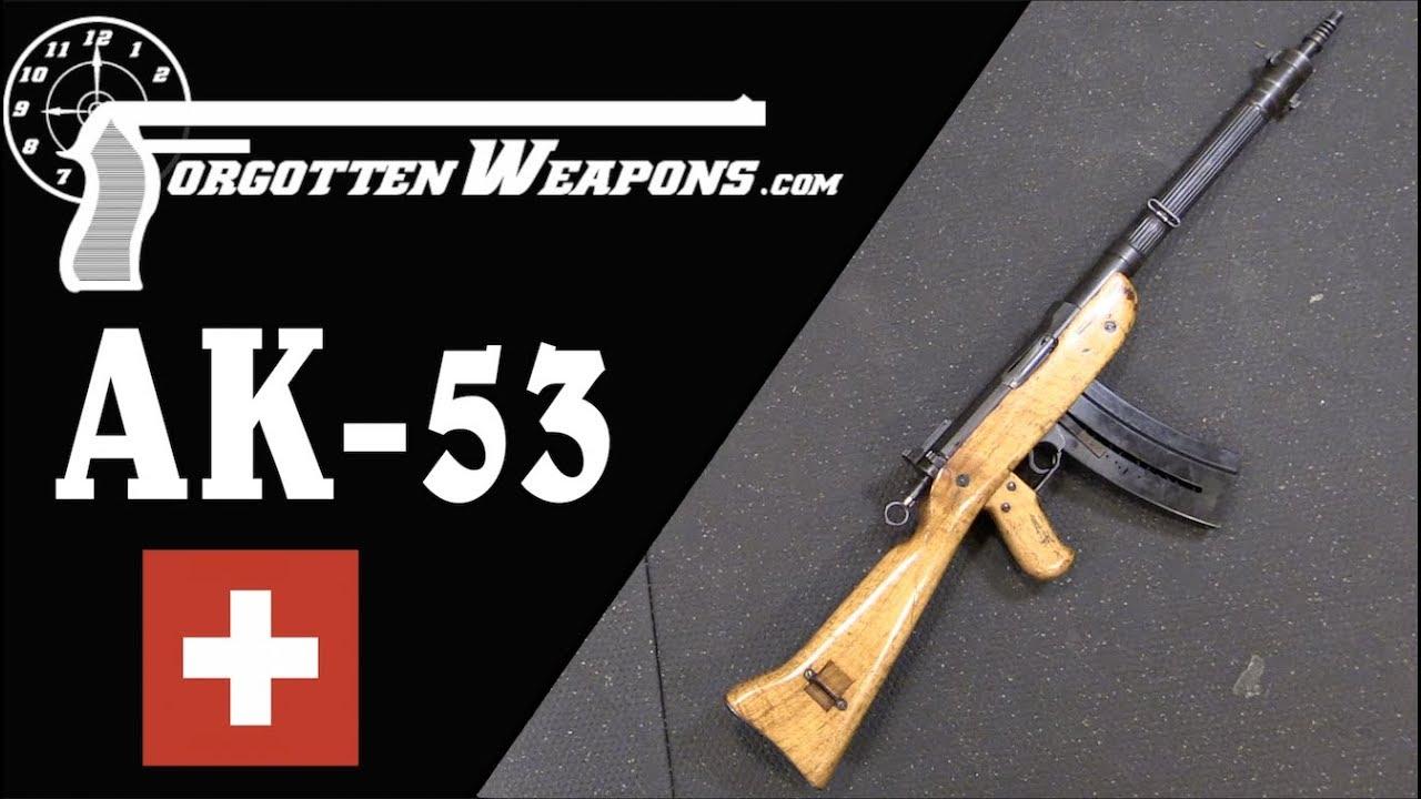 SIG AK-53: A Truly Weird Forward-Operating Rifle