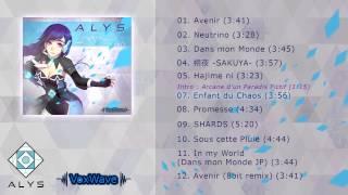 """ALYS 1st album """"Éveil"""" Crossfade"""