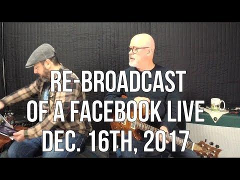 Marty Music Facebook Live Re-Broacast w Tim Pierce (Dec. 16th, 2017)