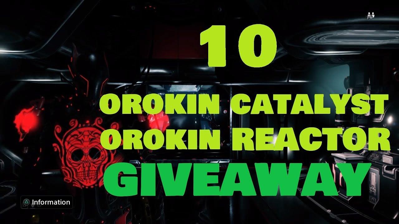 how to get an orokin catalyst