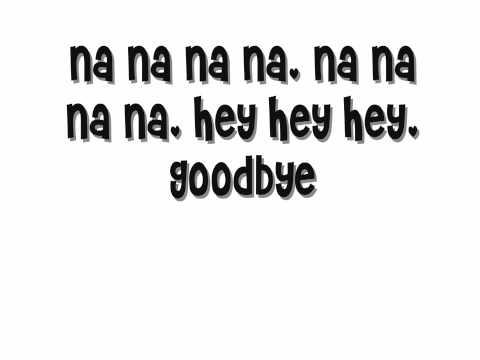 Goodbye - Kristina DeBarge /Lyrics + Download Link
