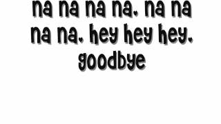 Goodbye - Kristina DeBarge /Lyrics + download link