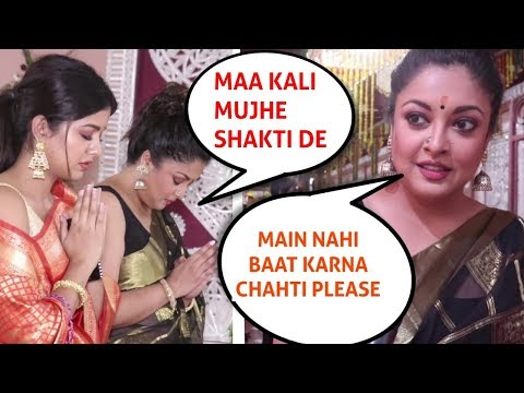 Tanushree Dutta Walks Off When Asked About Nana Patekar Controversy At Kali Temple, Mumbai