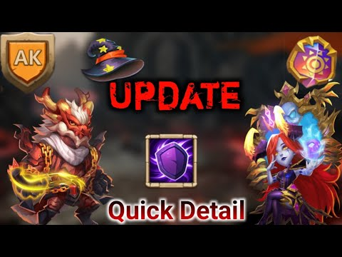 Halloween Update | Quick Detail | Two New Hero | Hbm AK | Castle Clash