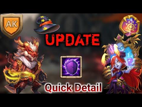 Halloween Update | Quick Detail | Two New Hero | Hbm AK | Castle Clash