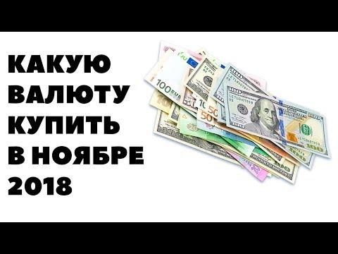 Прогноз курса валюты на ноябрь 2018 в России. Какую валюту покупать в ноябре