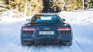 Audi R8 V10 Plus | Winter Drive
