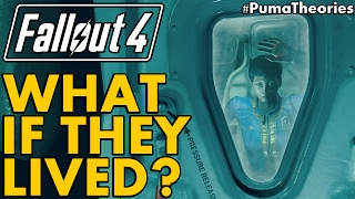 Fallout 4 What if almost everyone in Vault 111 Survived Cryostasis Lore and Theory PumaTheories