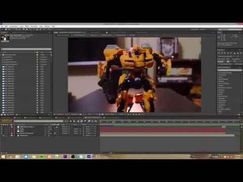 After Effects Stop-Motion Tutorial 1 - Basics