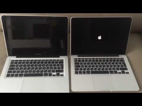 Macbook Pro (mid-2009) SSD vs Macbook Pro (Early 2015) boot test