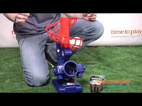 MLB Learn To Play Electronic Pitching Machine From Franklin Sports