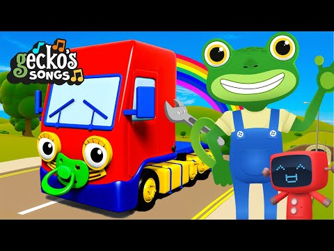 Baby Truck's Favorite Songs|Songs and Nursery Rhymes For Kids|Gecko's Garage|Videos For Toddlers