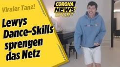 So habt ihr Lewandowski noch nie gesehen! | Corona News Sport