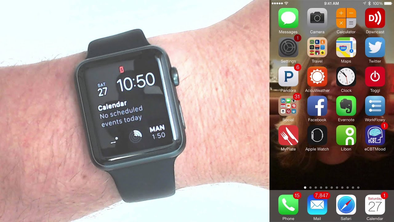 How To Fix The Red Disconnected Icon On Apple Watch Youtube