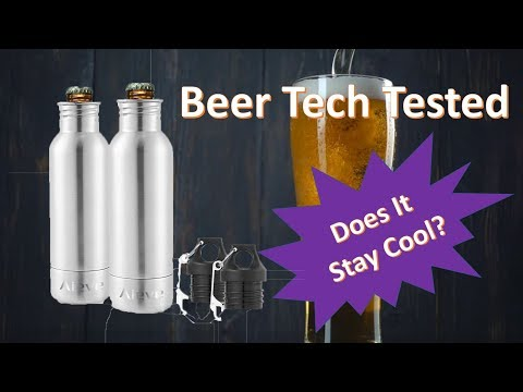 Aieve Bottle Cooler -- Beer Tech Tested