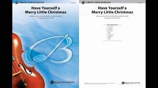 Have Yourself a Merry Little Christmas, arr. Calvin Custer – Score \u0026 Sound