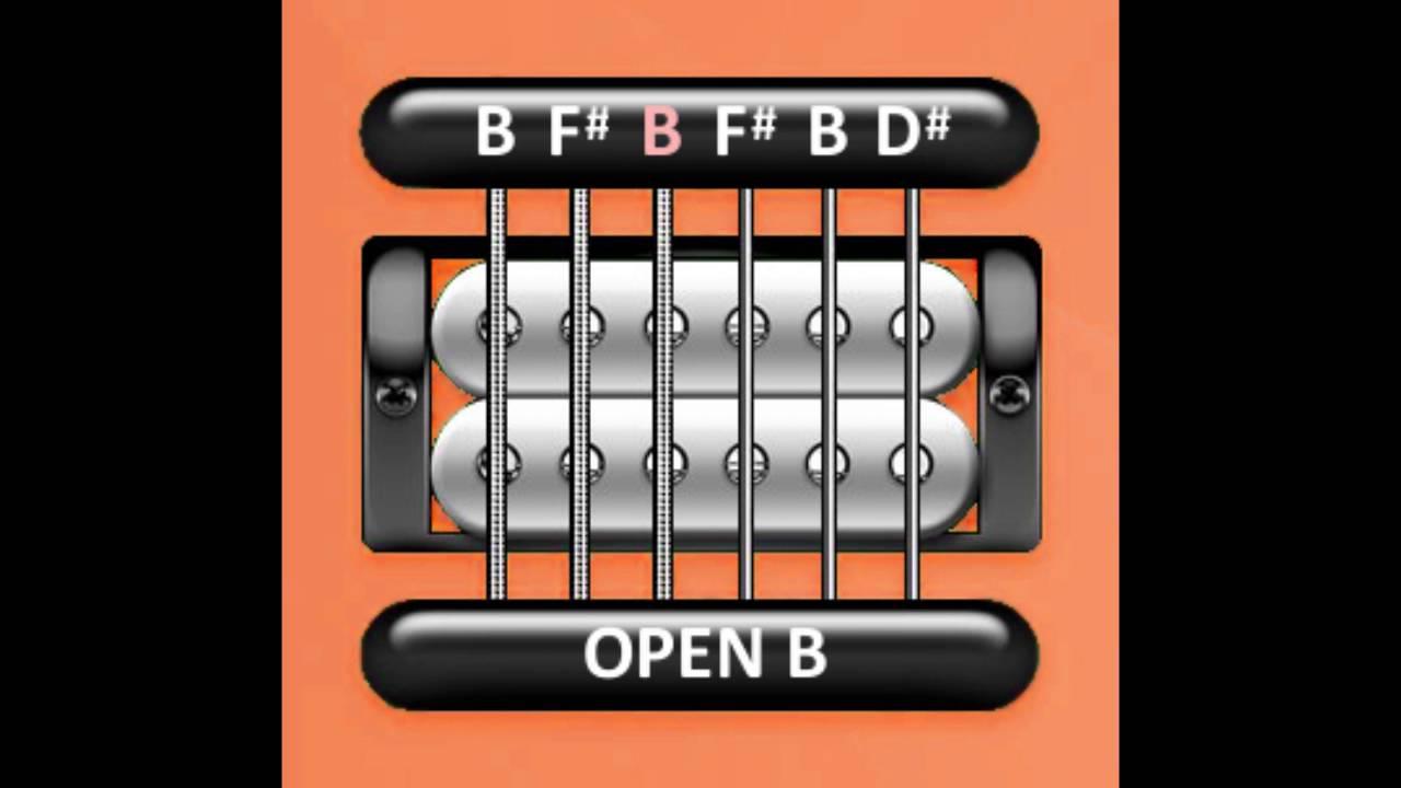 Perfect Guitar Tuner Open