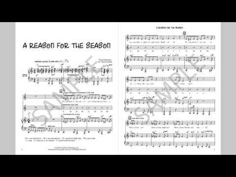 A Reason For The Season - MusicK8.com Singles Reproducible Kit