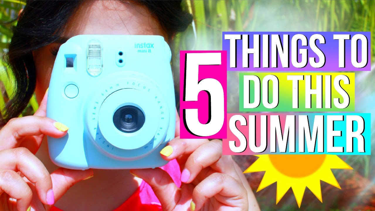what to do when bored this summer 5 fun ideas youtube