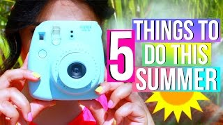 What To Do When Bored This Summer! 5 Fun Ideas!