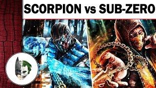 - Скорпион против Саб Зиро Враги которые стали друзьями
