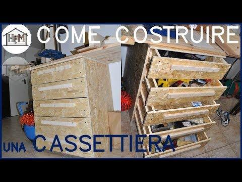 Progetto Cassettiera In Legno.Cassettiera In Legno Cnc Ma Senza Cnc Parte 3 La Realizzazione