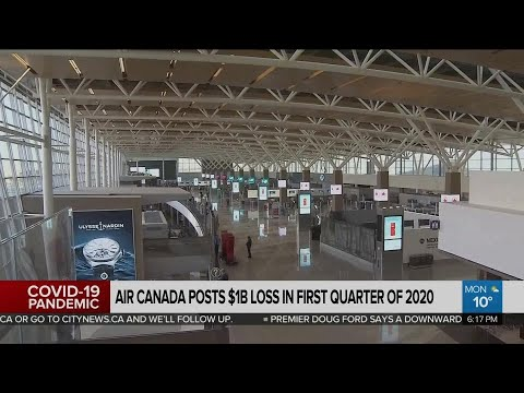 Air Canada Posts $1B Loss In First Quarter