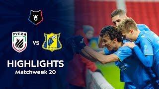 Highlights Rubin vs FC Rostov 0 2
