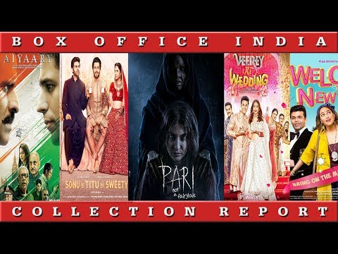 Box Office Collection Of Pari, Veerey ki Wedding, Sonu Ke Titu Ki Sweety | Box Office India