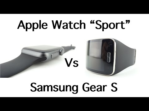 "Apple Watch ""Sport"" Vs Samsung Gear S"