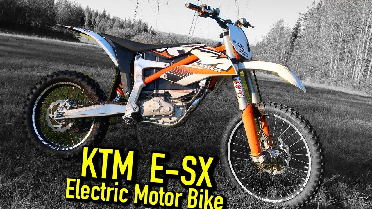Ktm Sx E Freeride Electric Motorbike Test Ride Youtube
