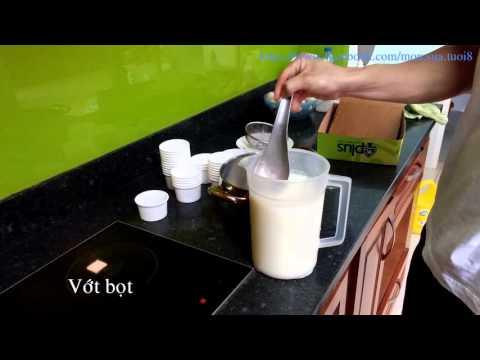 Cách làm sữa chua từ sữa bò tươi