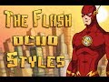 DCUO: The Flash Inspired Styles / Suits