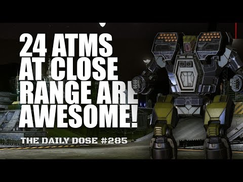 24 ATMs is all you need! Hunchback IIC build - Mechwarrior Online The Daily Dose #285
