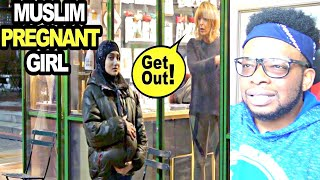CATHOLIC REACTS TO Muslim PREGNANT HIJABI Experiment (Social Experiment)