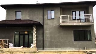 Проект двухэтажного дома с подвалом X21